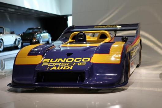 Chassis 002 of the 917/30 Can Am challenger, at 1200 BHP the most powerful racing car ever produced by Porsche. Winner at Watkins Glen 1973 with Mark Donohue behind the wheel.