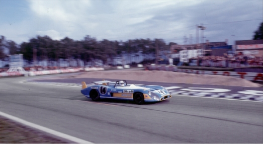 The Matra MS 670 of Cevert-Ganley, a long tail version designed especially for Le Mans.